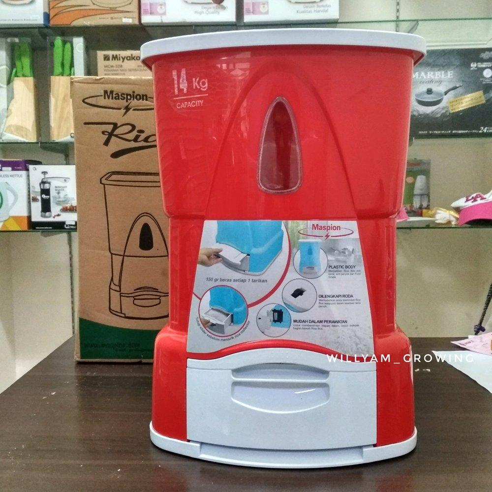 Maspion Rice Box MRD 1400AP MRD 1400 AP 14Kg Tempat Beras 14 Kg