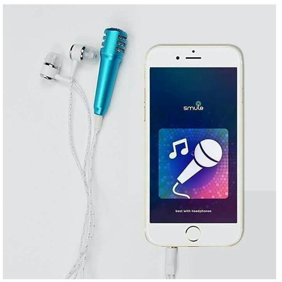 Universal Handsfree Smule / Headset Smule / Mic Smule - Jack 3.5mm Support All Smartphone