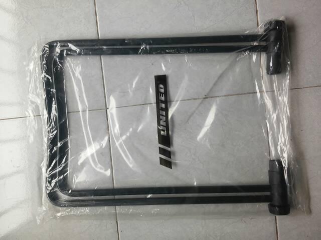 HARGA SPESIAL!!! standar segitiga untuk sepeda warna hitam merk united - e4ycIA