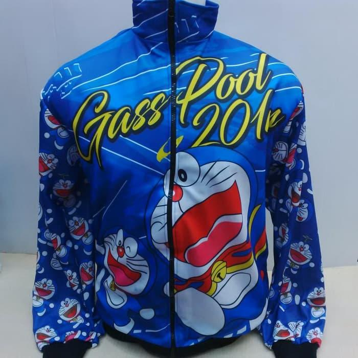 Promo Jaket Balap Drag Bike Doraemon 432 original
