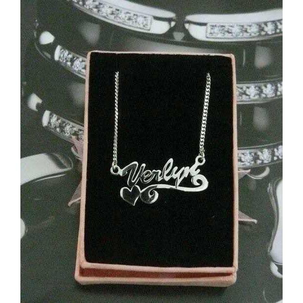 Kalung Nama Perhiasan Nama Monel Anti Karat Anti Hitam