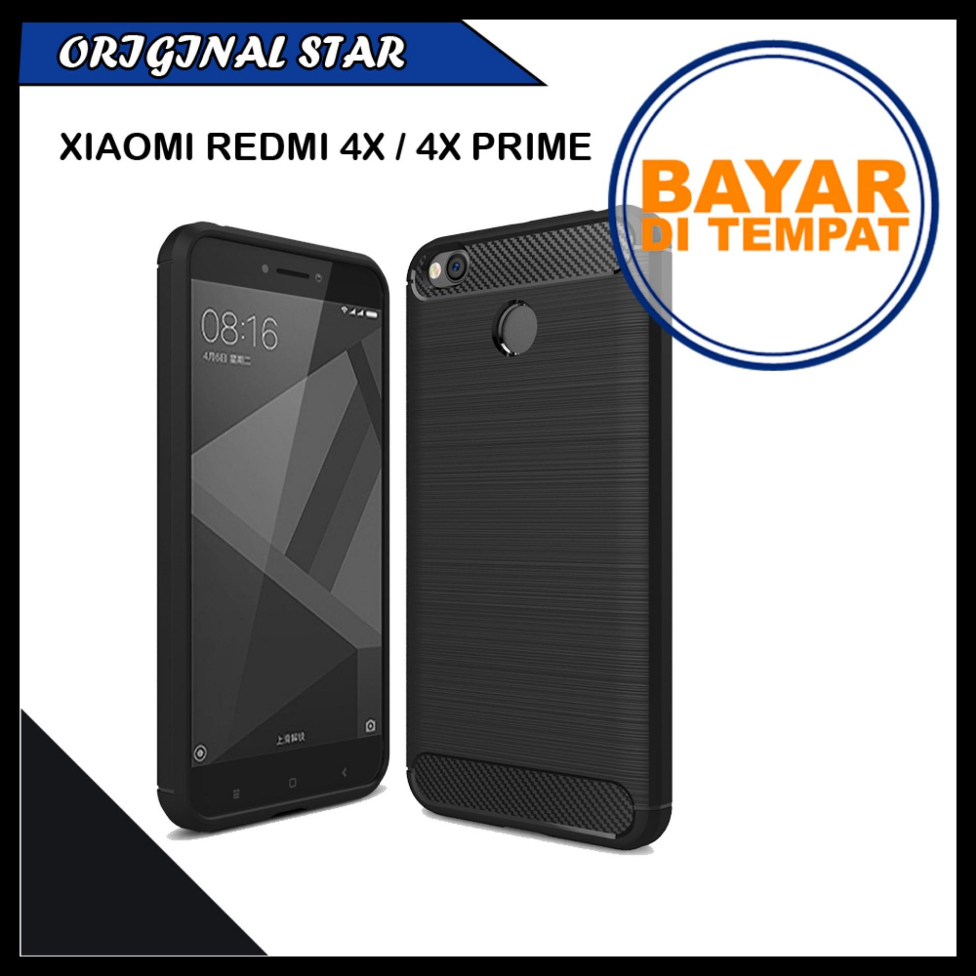 original ipaky shockproof hHybrid Back Case for Xiaomi Redmi 4x - Black