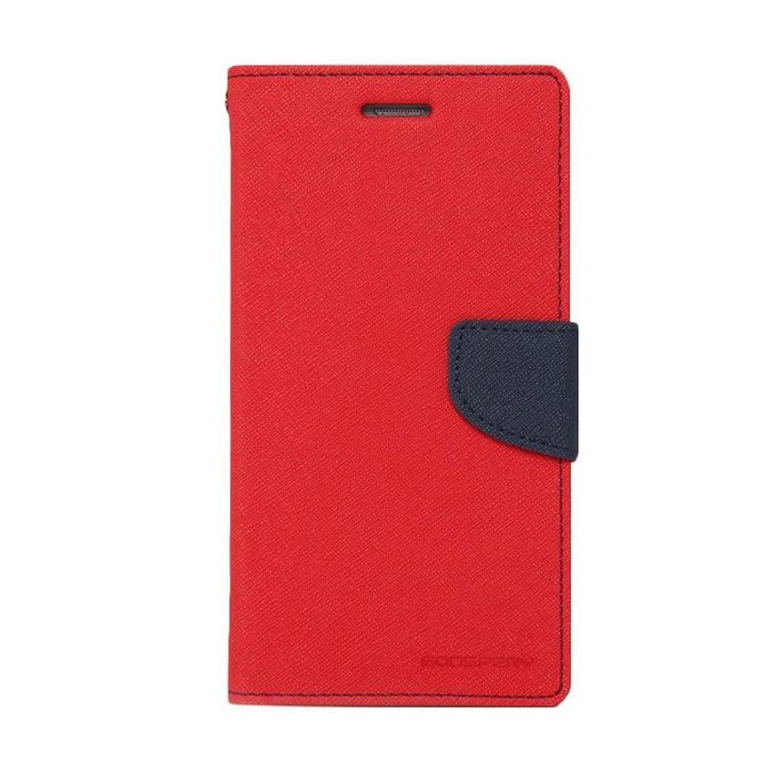 Mr dompet Fancy Diary for LG G3 - Merah