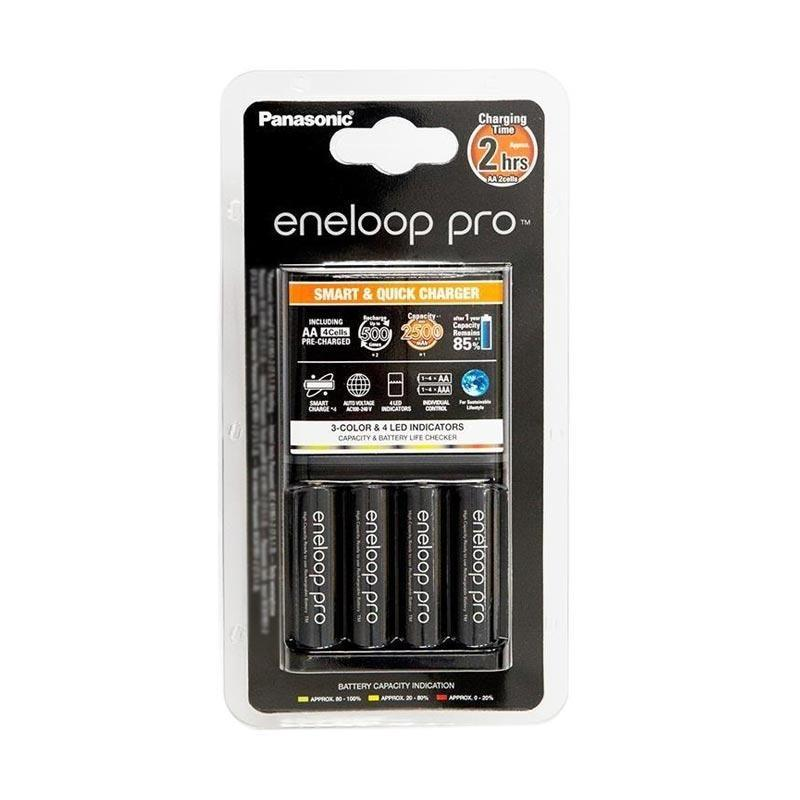 Panasonic Eneloop Pro Smart & Quick Charger AA 4pcs 2H