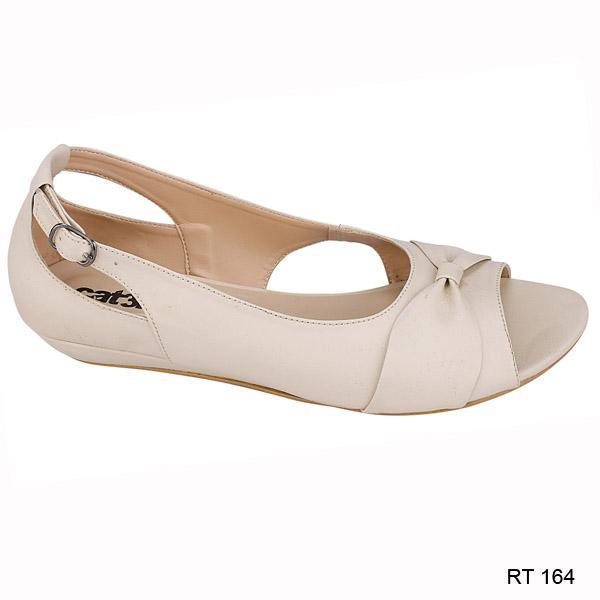 Catenzo Sepatu Kasual Wanita Cream - RT 164