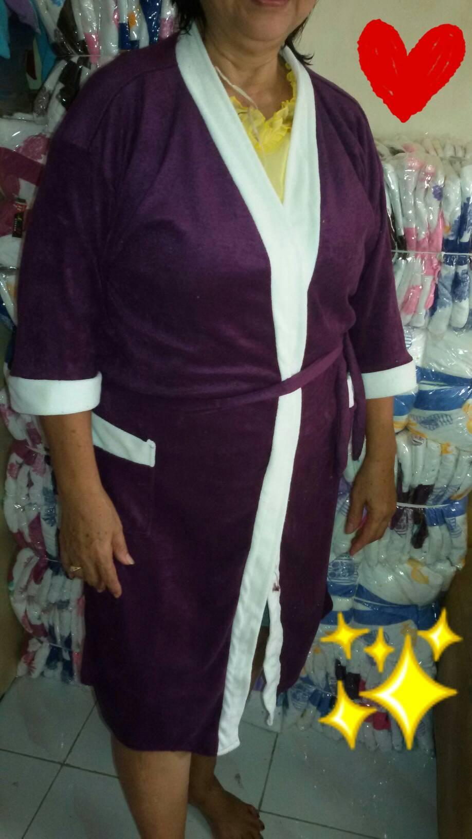 Kimono handuk Jumbo polos