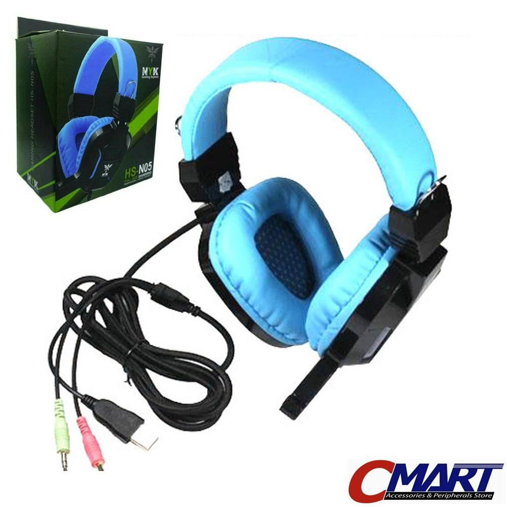 Buy Sell Cheapest Headset Head Set Best Quality Product Deals Gaming Rexus F15 Nyk Hs N05 Headphone With Led Light