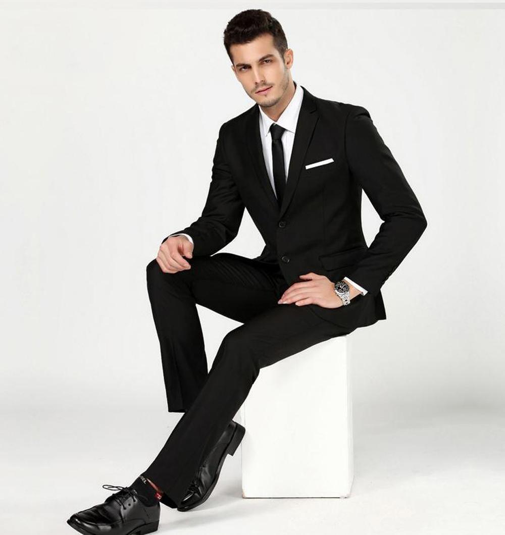 Setelan Jas Formal Business Youth - Jas Formal Basic - Jas Pria Formal Meet & Great ( Jas + Celana ) - Black