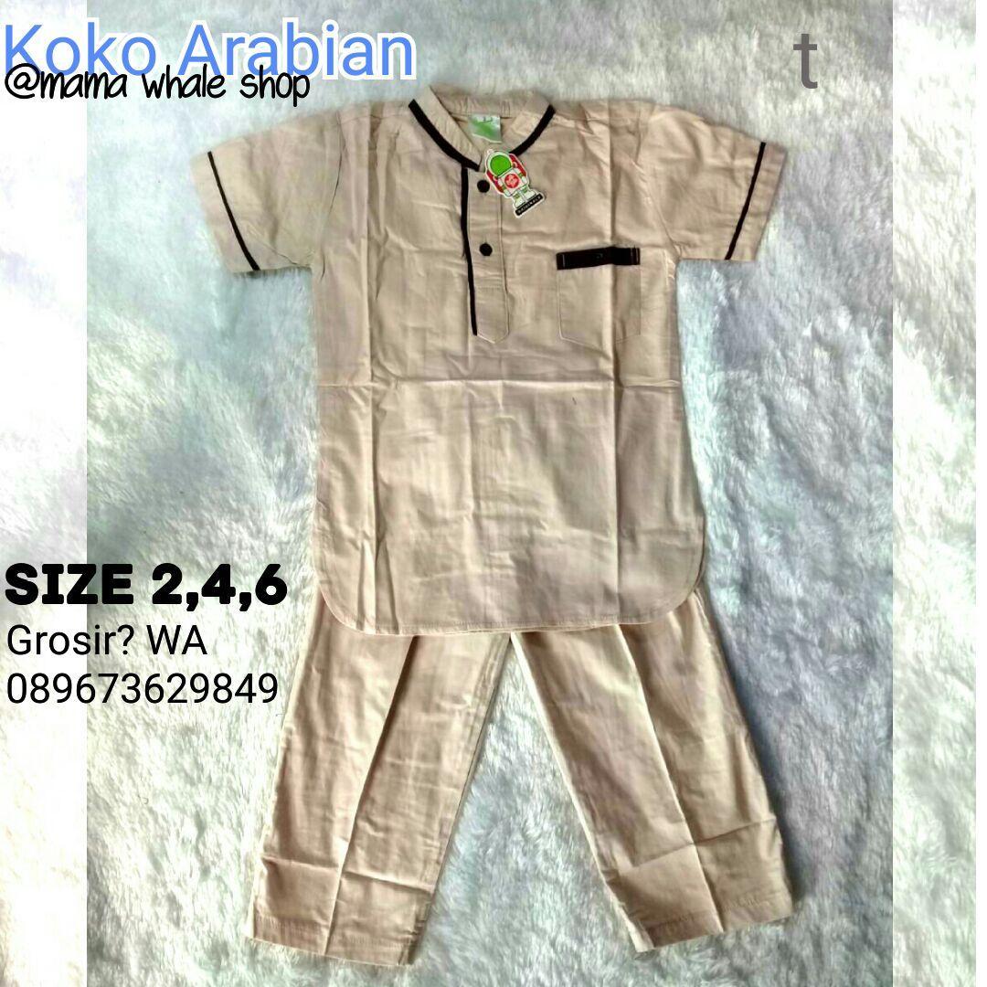 Set Koko Arabian Polos - Arab - (1-7th)
