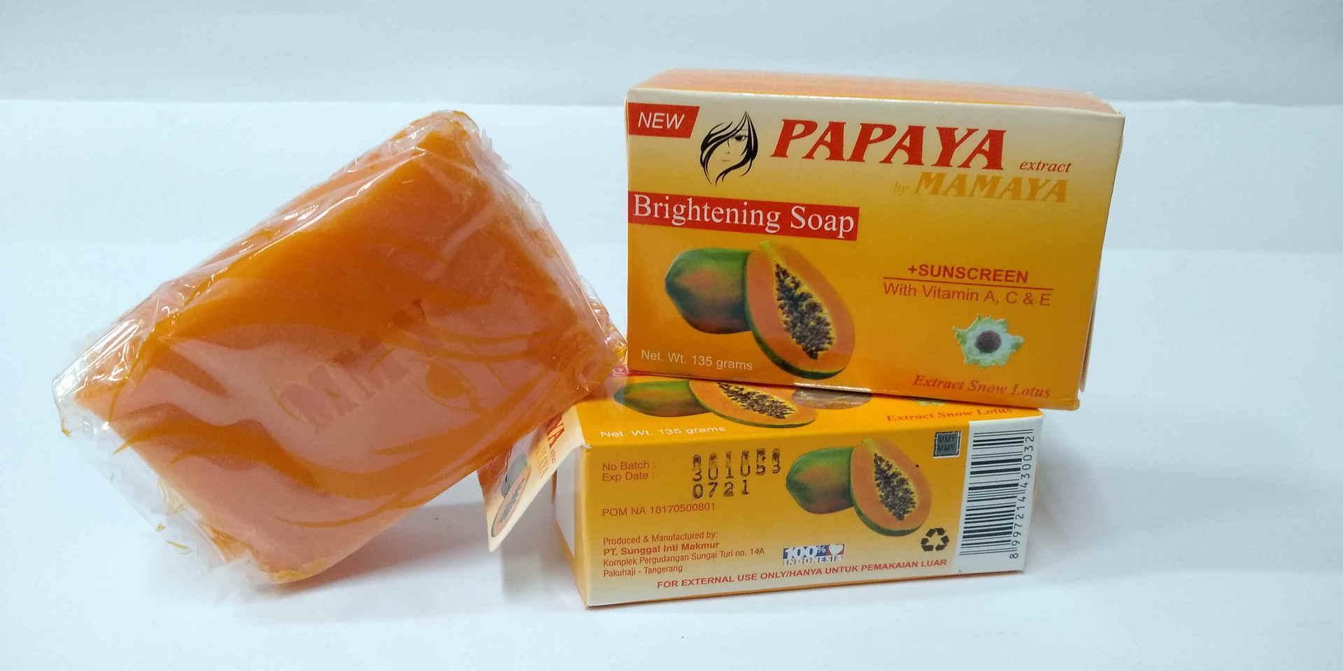 Buy Sell Cheapest Sabun Papaya Isi Best Quality Product Deals Surewhite Facial Foam Bpom 100ml Original By Mamaya