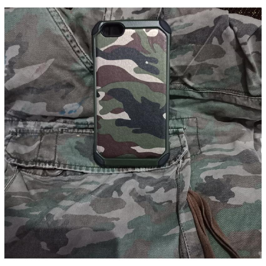 Mouzel Softcase Case Army For Oppo A71