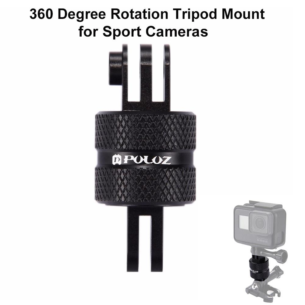 Joint Victory 360 Degree Rotation CNC Swivel Pivot Extension Arm Tripod Mount for GoPro HERO5 /4 /3+ /3 /2 /1, Xiaoyi and other Sport Cameras