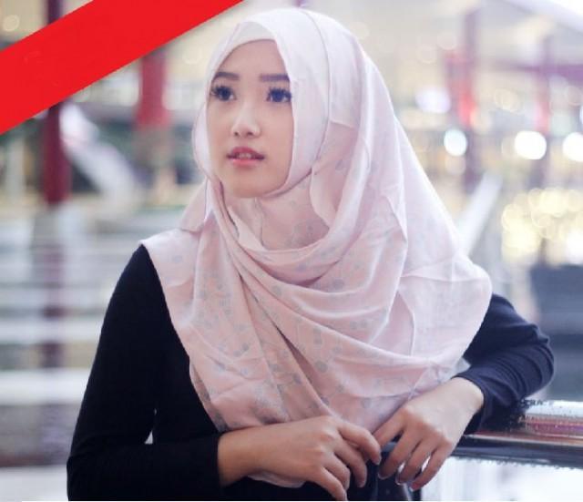 Hijab Instan Pashmina 1 Lubang - Pasmina Diamond - Pastan Cantik - Jilbab Instan