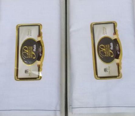 Sarung Pohon Korma Platinum Timbul Tumpal Songket Putih motif BHS