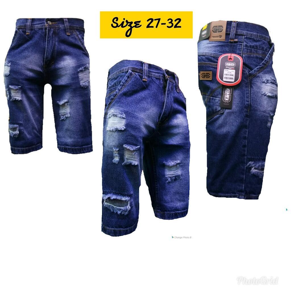 aybe collection celana pendek cowok model sobek-sobek terbaru/fashion celana pendek cowok /