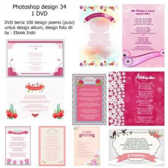 Harga Penawaran Photoshop Design 34 PSD 34 Poem - Puisi Full Hiasan discount - Hanya Rp64.875