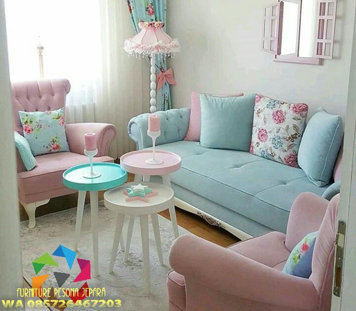 Sofa set keluarga, Kursi sofa set. PESONA JEPARA 05