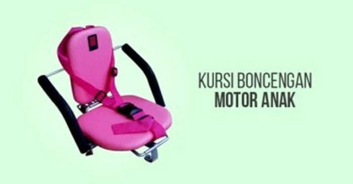 Kursi bonceng anak polos kusus motor matic ||| JOK motor anak | sarung| hidrolik| sandaran  belakan