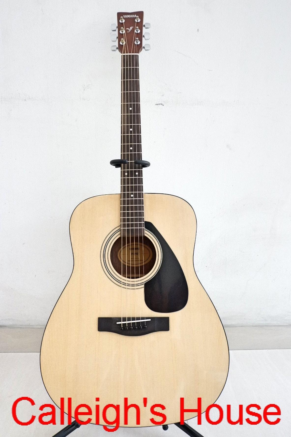 Gitar Guitar Akustik Acoustic Folk Yamaha Asli F310 F 310 Bagus