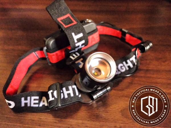 Headlamp tactical outdoor bicycle mini headlight 35000w rechargeable