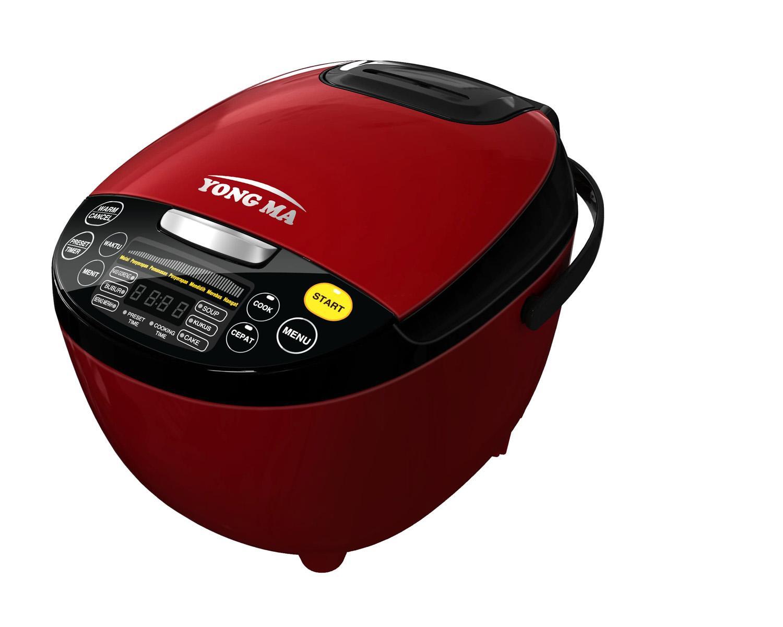 Yong Ma YMC 211 Nasi Goreng Digital Rice Cooker - Merah [2 Liter]