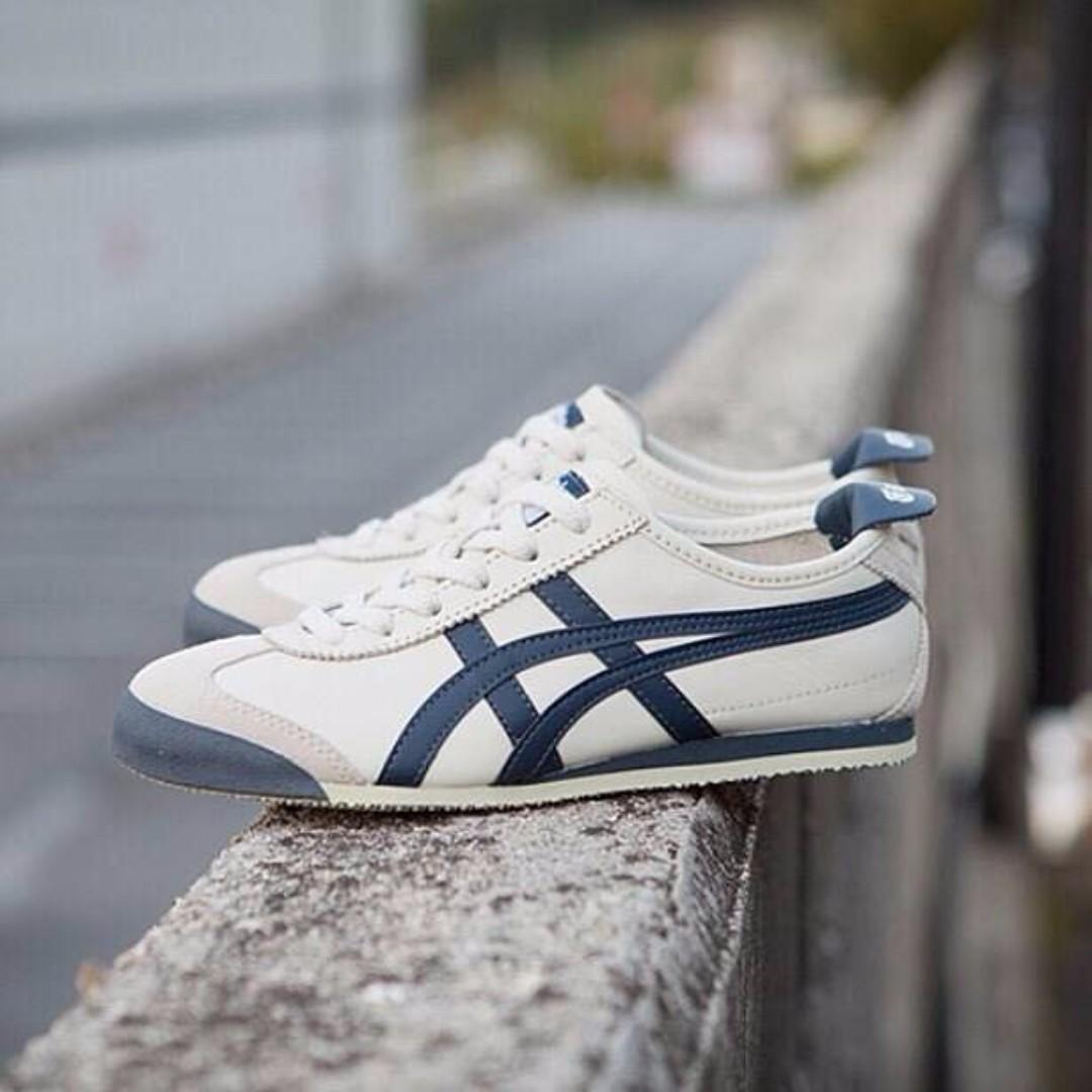Onitsuka Tiger Mexico 66 Cream Navy e538d0388e