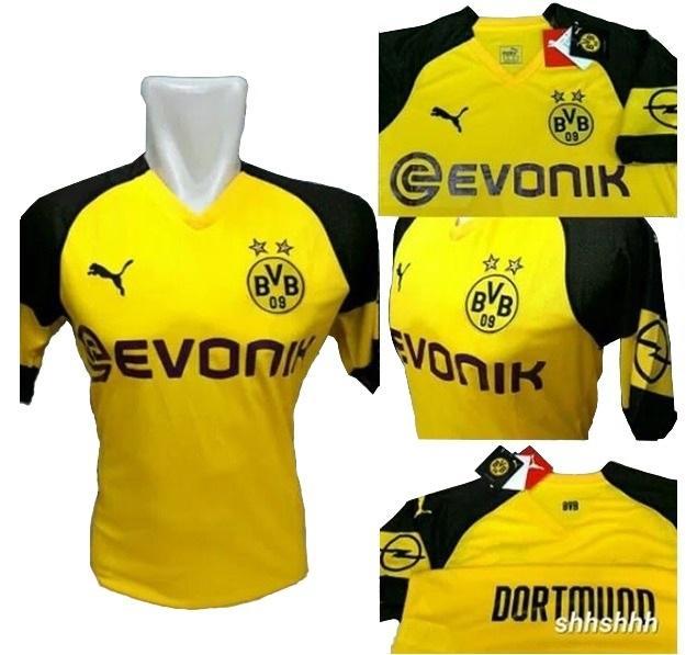 Bo Sport Jersey Olahraga Dortmund Home 18 - 19