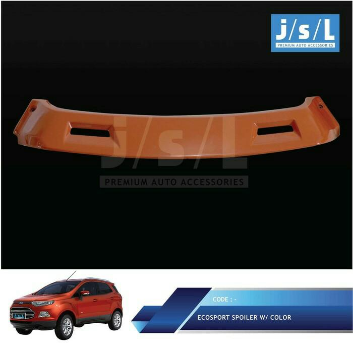 Ford Ecosport Spoiler Dengan Lampu Warna Custom/ Spoiler w/ La