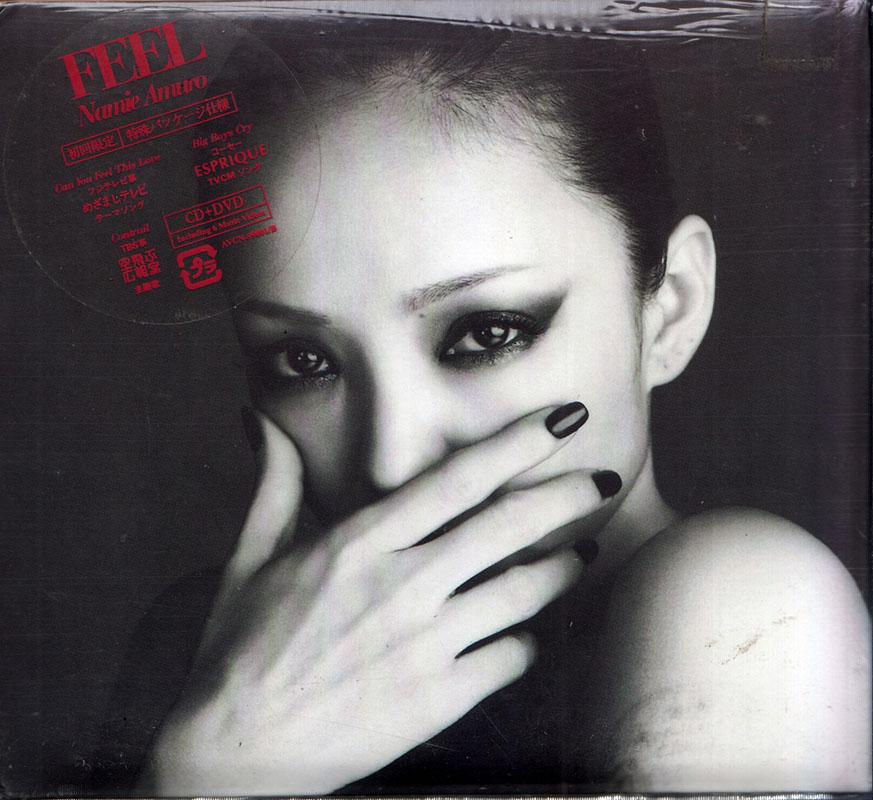Cd Namie Amuro - Feel (cd+dvd) By Womdisc.