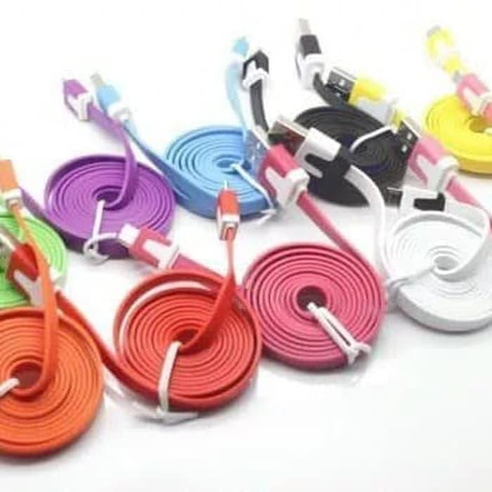 Kabel data warna micro usb for samsung,oppo,xiaomi,lenovo,asus,bb dll