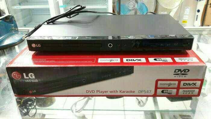 Harga Diskon!! Dvd Lg Karoake Dp-547 With Usb - ready stock