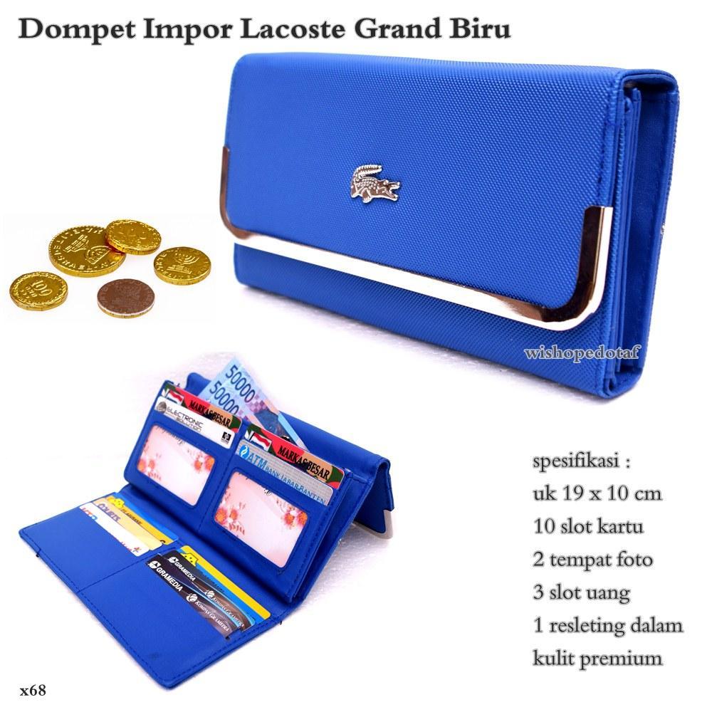 Dompet wanita lacoste grand import