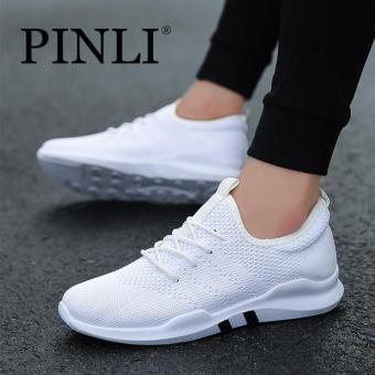 Harga preferensial PINLI Sepatu Olahraga Pria Bernapas Sepatu Olahraga  Tenis Berjalan Santai terbaik murah - Hanya Rp133.875 a9849ee2f6