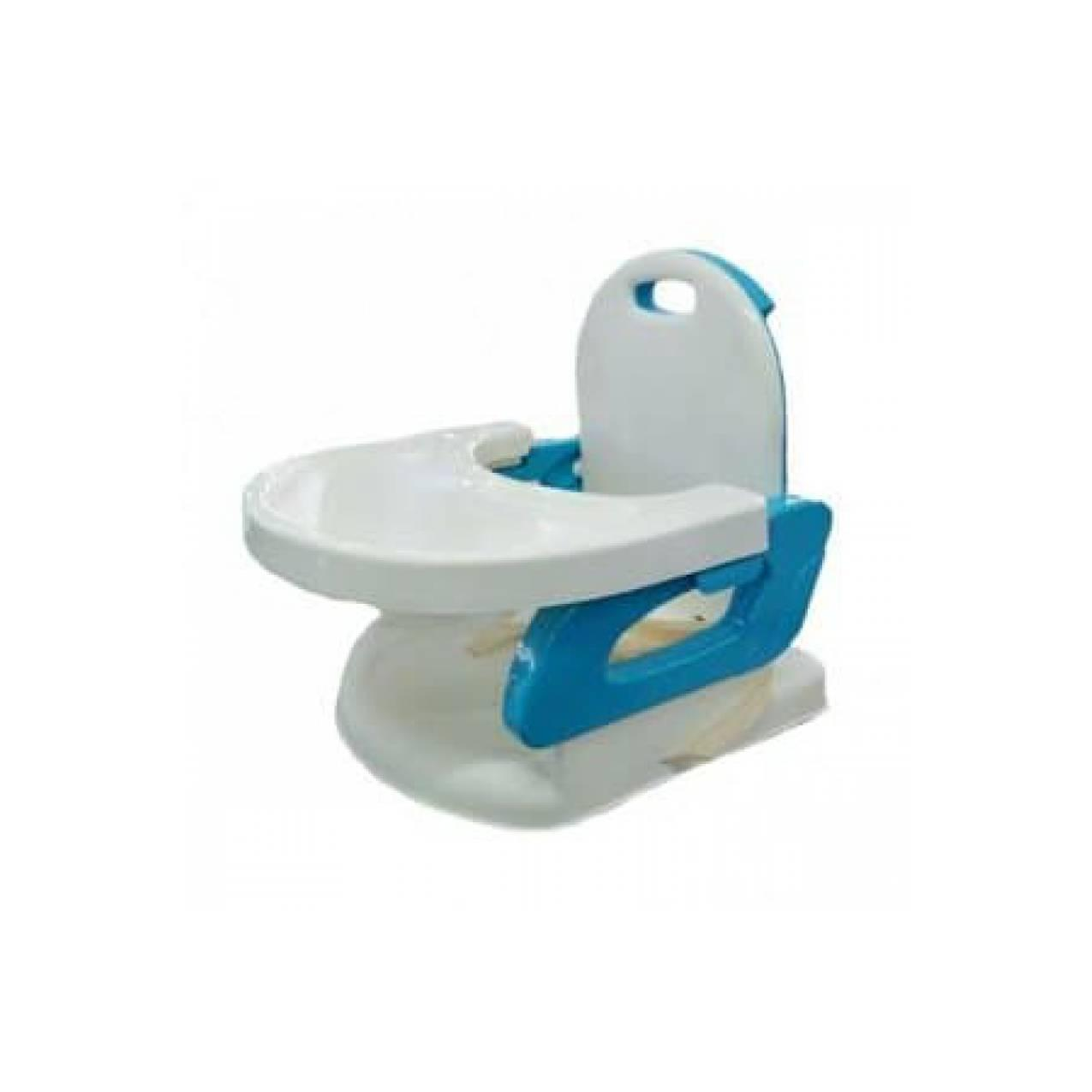 BabyDoes Foldable Booster Seat Blue 07336 - Kursi Bayi Murah