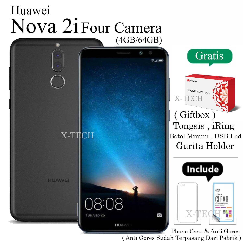 Huawei Nova 2i - Ram 4GB - Rom 64GB - Four Camera - Garansi Resmi