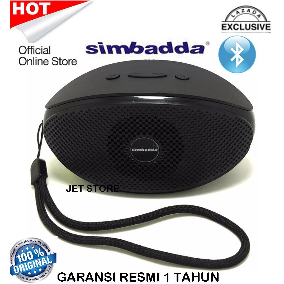 Simbadda Bluetooth Music Player Portable Speaker CST 330N - Hitam