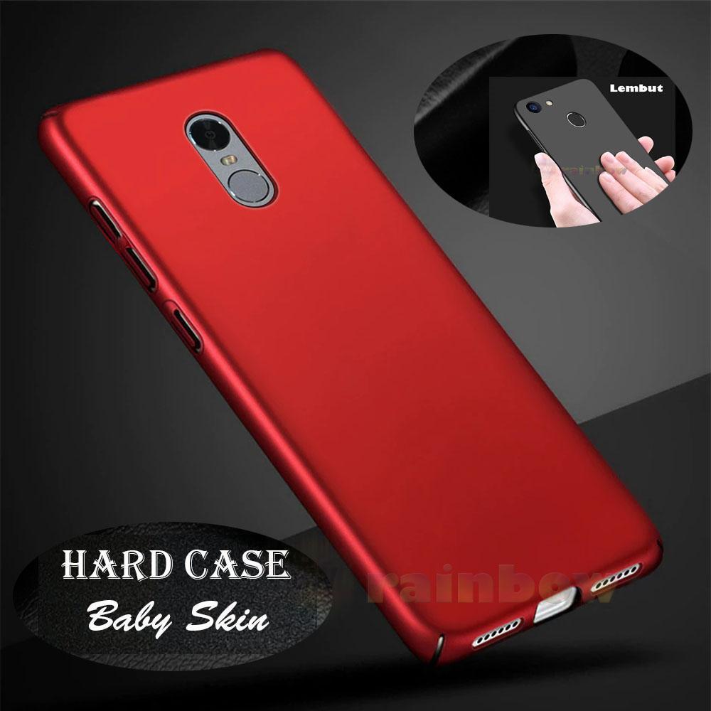 Rainbow Hard Case Baby Skin Xiaomi Redmi Note 4X Silky Case Anti Slip / Case Matte