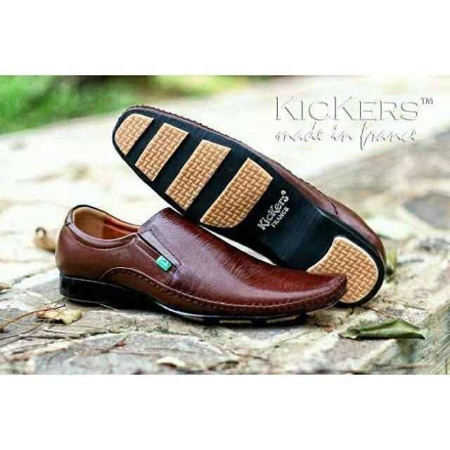 Sepatu Kulit Sepatu Pantofel Pria Sepatu Kickers Formal