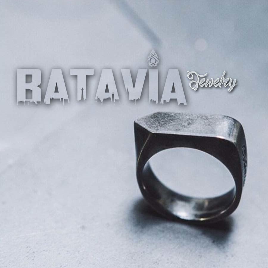 Diskon Promo Perhiasan Aksesoris Cincin Titanium Pria Vitaly Way Black Mate Cincin Couple Skull Ring Murah