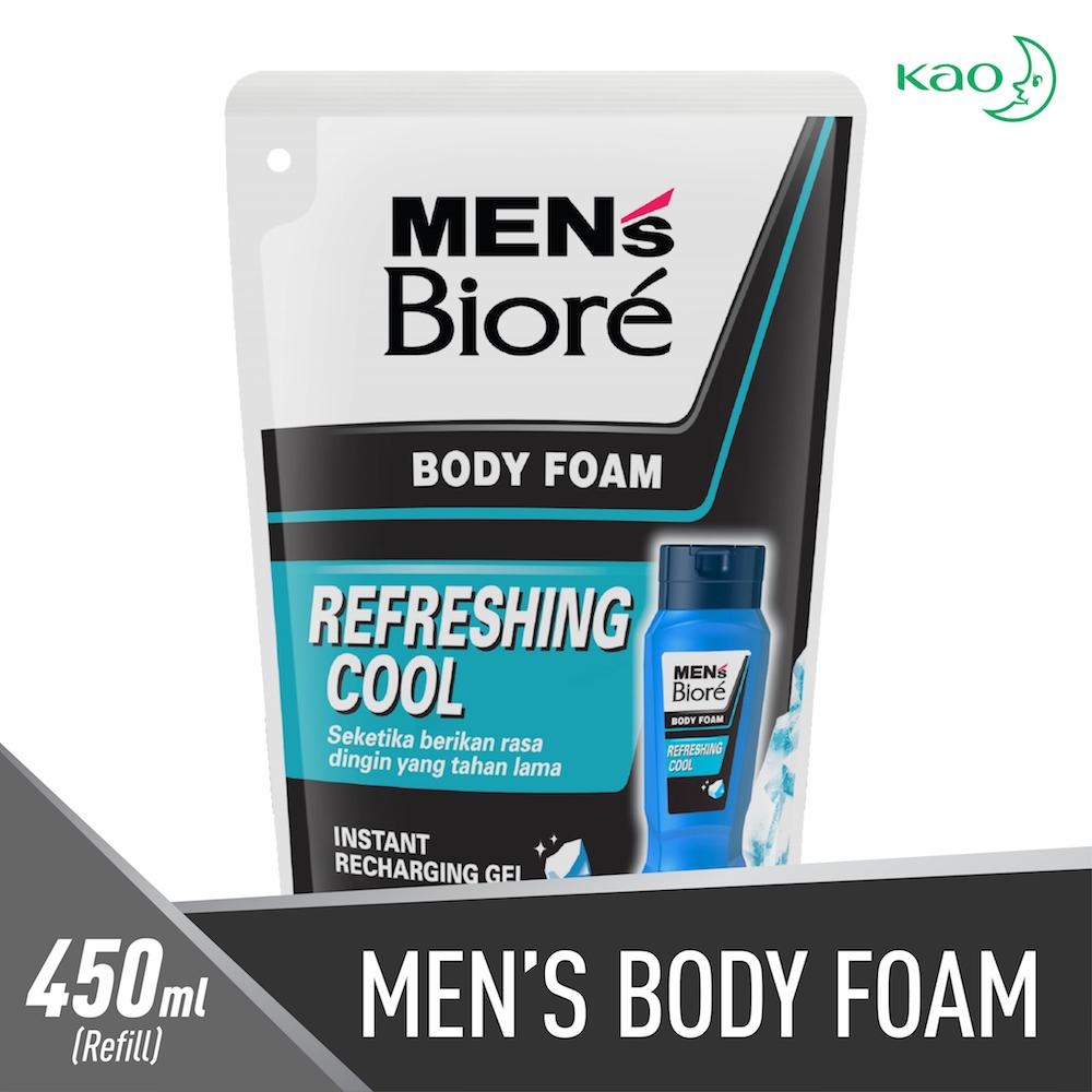 Biore Men Body Foam Refreshing 450ml By Watsons.