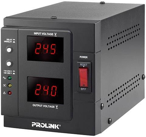 Stabilizer Prolink 1000 Va - Auto Voltage Regulator Pvr1000 D By Kompurindo.