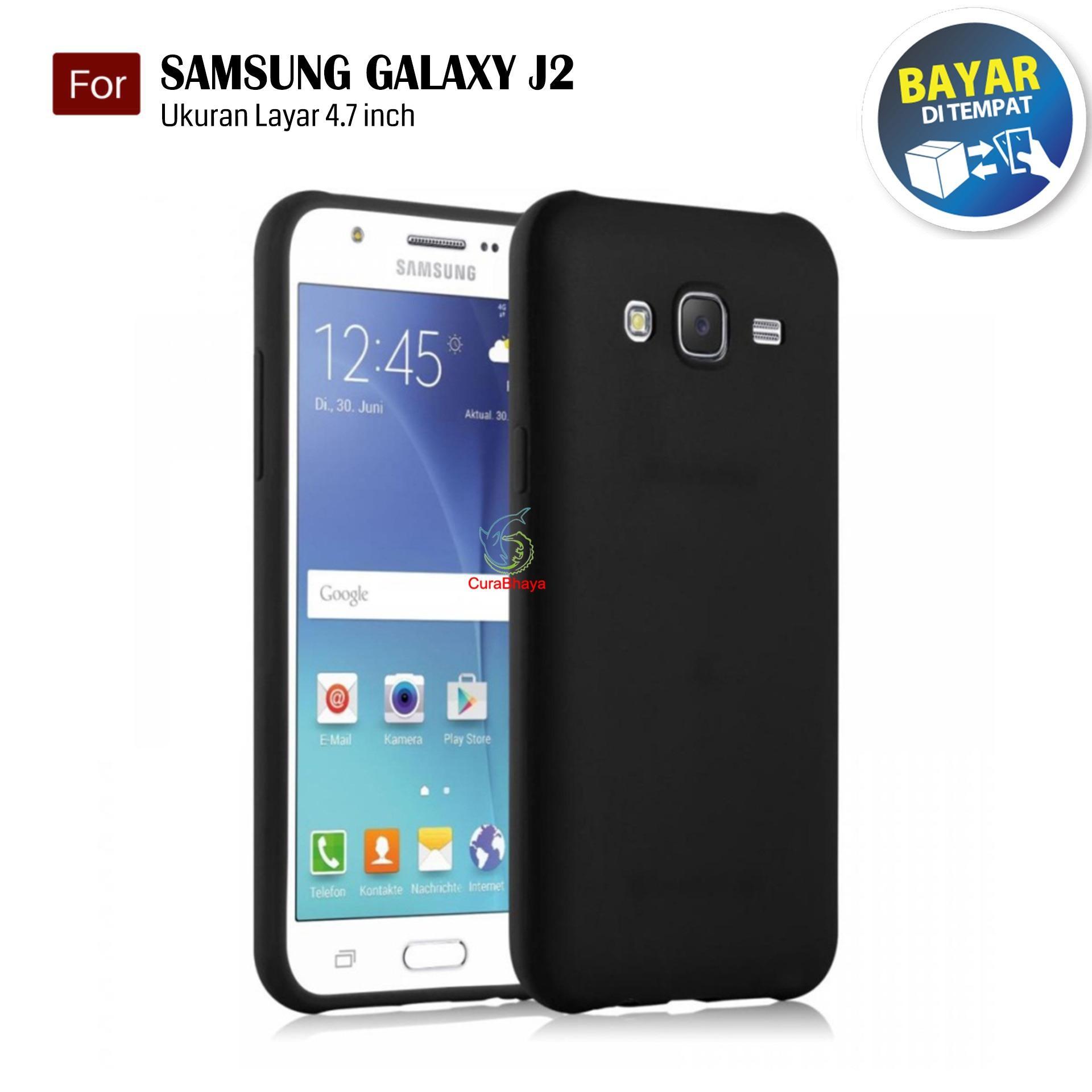 MidNight Samsung Galaxy J2 (2015) / J200 / Duos   Slim Case Black Matte