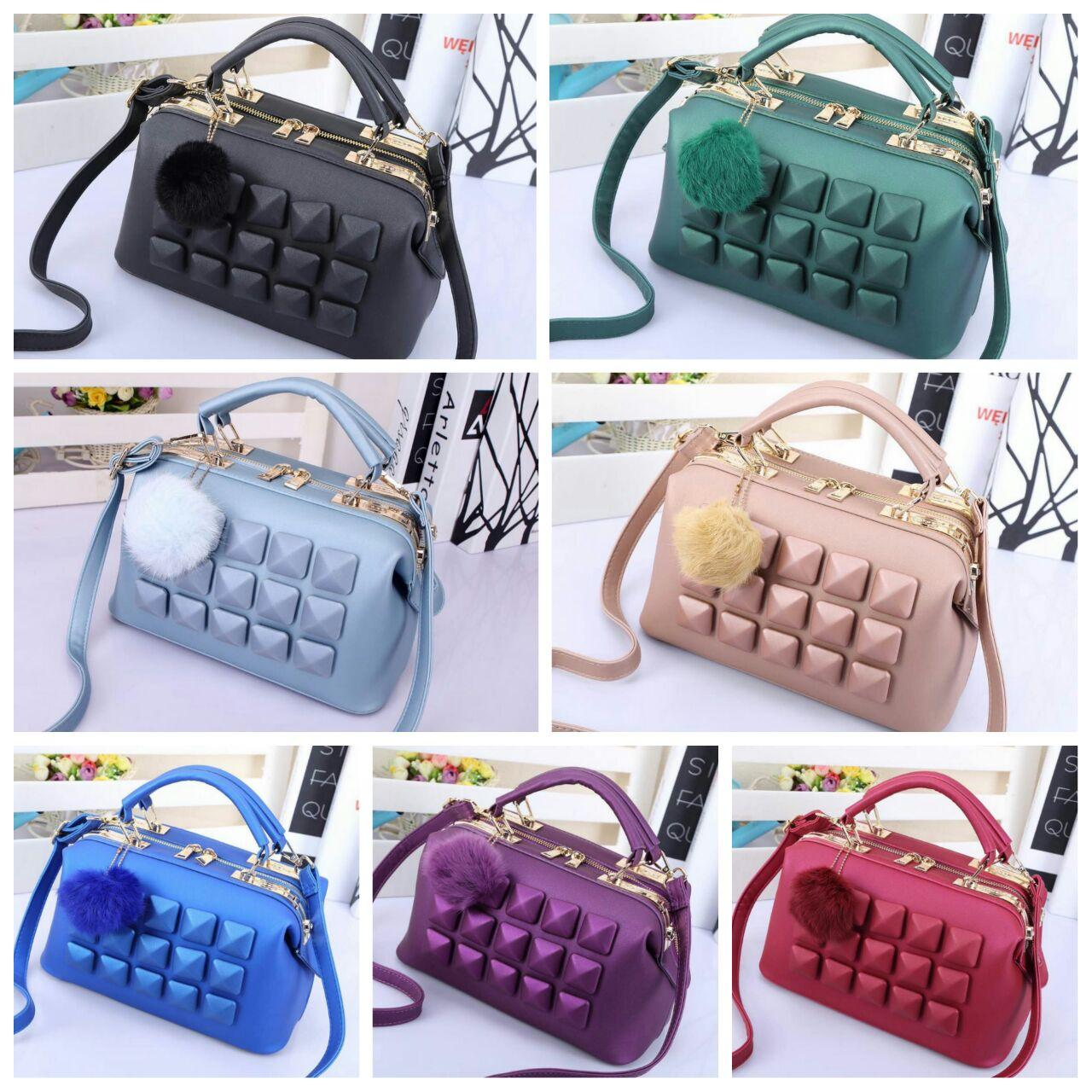 Fashion Jelly Doctor 3298 Fashion Wanita Tas Import Grosir Tas Selempang Ransel Handbag Trendy