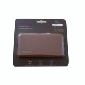 Pencarian Termurah Bcare Slim Leather Texture Powerbank [7800 mAh] - Coklat harga penawaran - Hanya Rp73.158