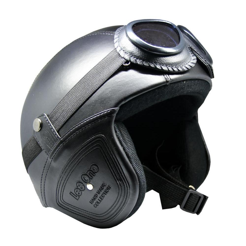 Helm Retro Unik Klasik Kaca Mata ( Helm, Retro, Clasic, Vespa)