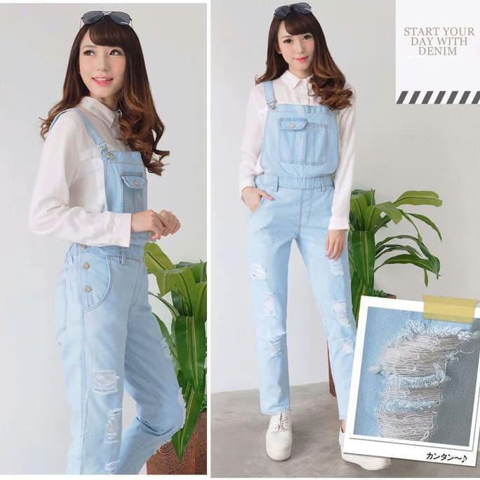 vshopjkt Jamsuit saniya Fashionable blouse bagus blus bagus kualitas baik baju wanita atasan wanita