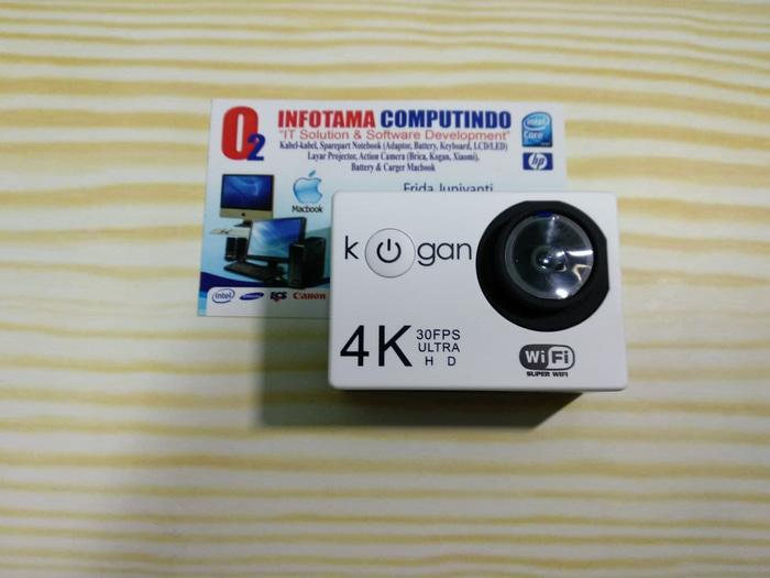 Kogan Action Camera 4k Ultrahd 16mp Putih Wifi Like Gopro Kamera Outdo Terlaris di Lazada