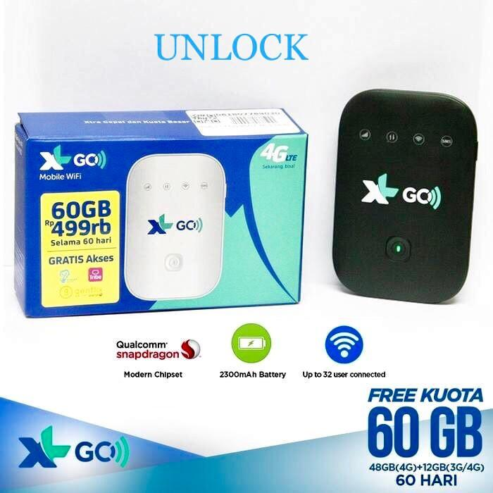 SALE - Mifi Xl GO 60 gb + Movimax MV003 Unlock 4G all operator