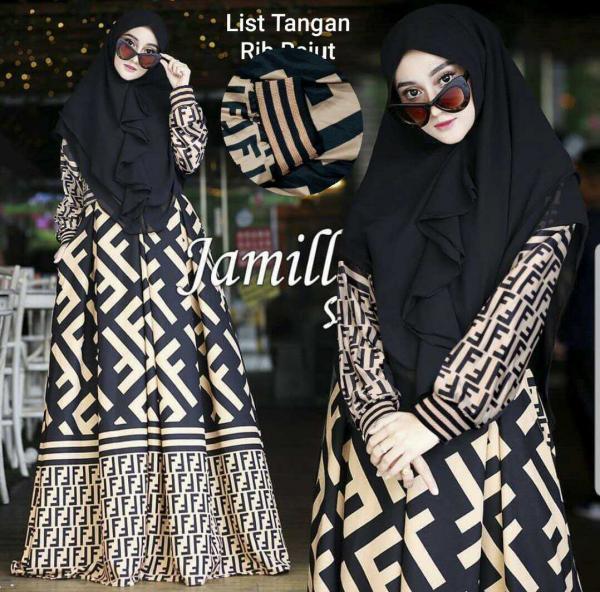Jamilah v2 Syari - Baju Muslim Murah Terbaru 2018 Grosir Pakaian Wanita  Busana Pesta Modern Maxidress 46679d8d43