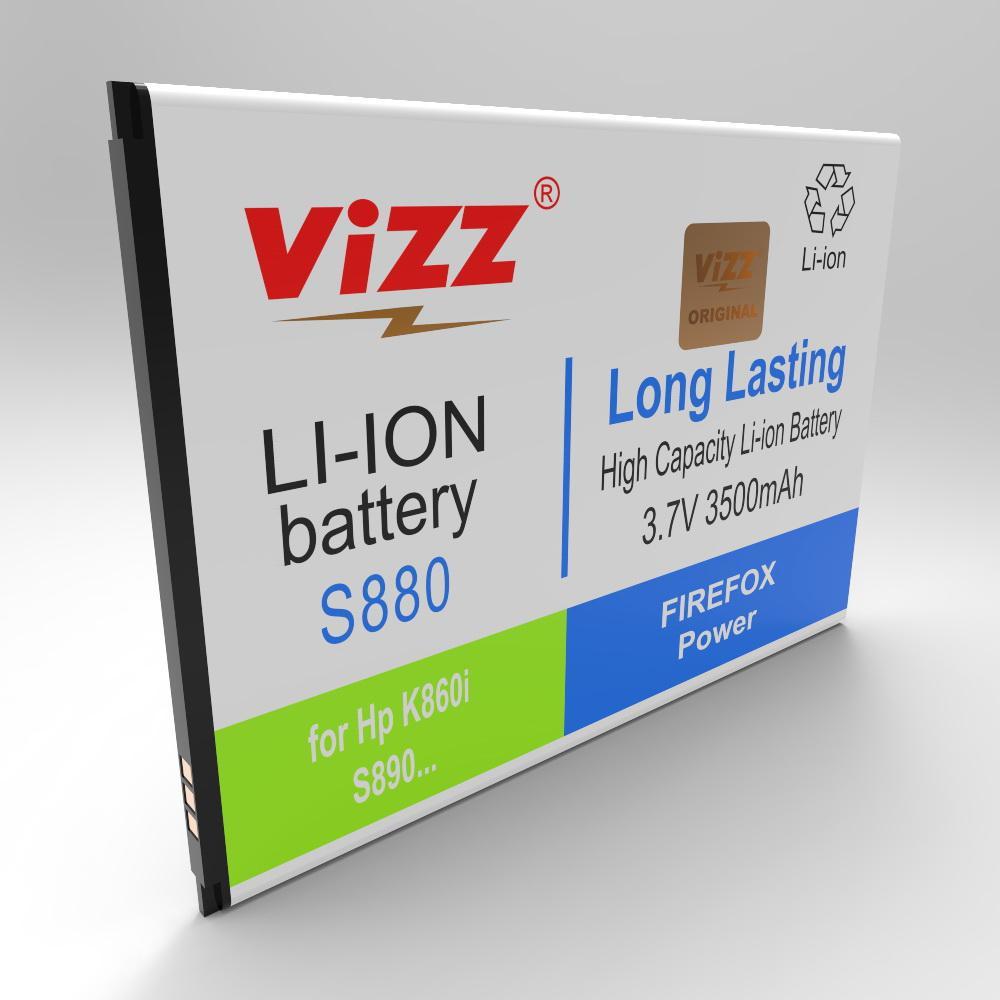 Vizz Baterai Double Power Lenovo S880, S890/K8/A860E/BL198 3500mAh